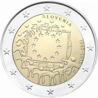 Slovenia 2015 30 years of the EU flag