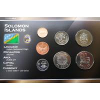 Solomon Islands 2005 year blister coin set