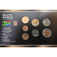 South Africa 2008-2010 year blister coin set