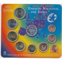 Spain 2006 Euro coins BU Set