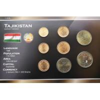 Tajikistan 2001-2006 year blister coin set
