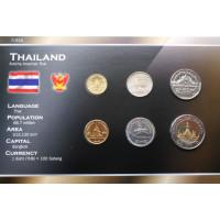 Thailand 2001-2009 year blister coin set