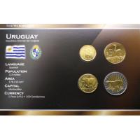 Uruguy 2011 year blister coin set