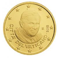 Vatican city 2012 50 cent