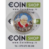Vatican city 2011 50 ct COLORED