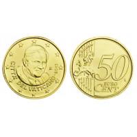 Vatican city 2013 50 cent