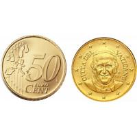 Vatican City 2015 50 Cent Pope Francis