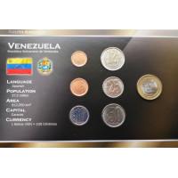 Venezuela 2007 year blister coin set