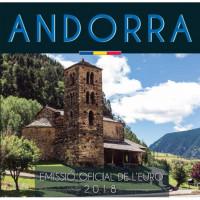 Andorra 2018 Euro coins BU set