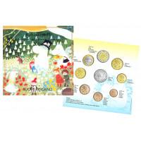 Finland 2004 Euro coin BU set