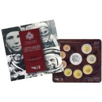San Marino 2011 Euro coins BU set with 5 euro silver coin