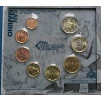 San Marino 2012 Euro coins BU set